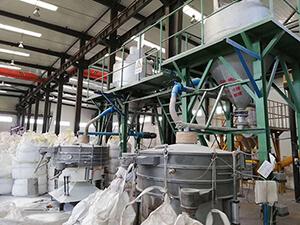 四chuan省成都市日产20吨钴粉筛分格linyu乐线