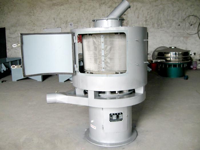 立式气流筛fen机